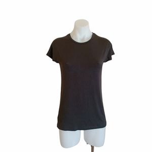 Country Road Size XS Black Crew Neck T Shirt
